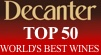 Decanter Top 50